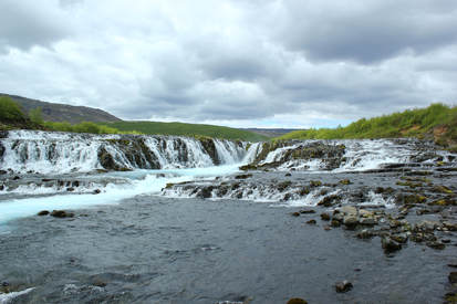 Bruarfoss on the Golden Circle in Iceland